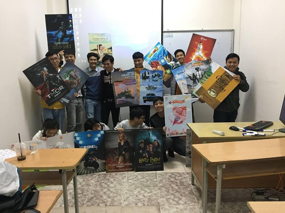 Sinh viên K30, K31 & K32 tự tin bảo vệ bài tập lớn