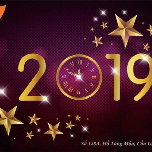 Hệ thống T3H Hà Nội chúc mừng năm mới 2019