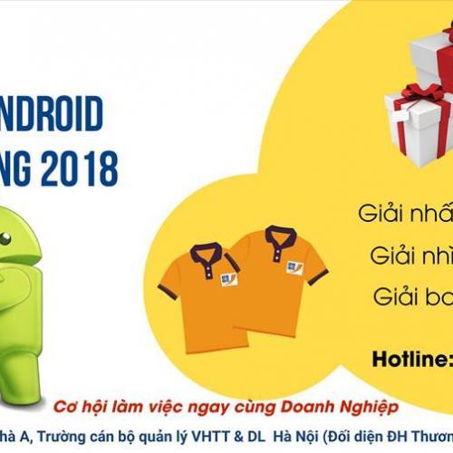 Cuộc thi Android T3H mở rộng năm 2018