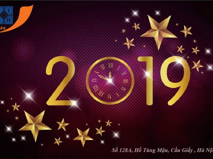 Hệ thống T3H chúc mừng năm mới 2019
