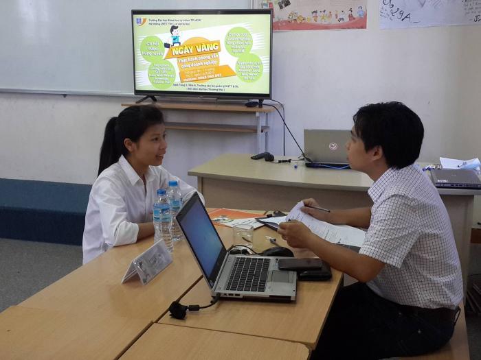 Hành trình chinh phục nhà tuyển dụng của sinh viên CNTT Hà Nội
