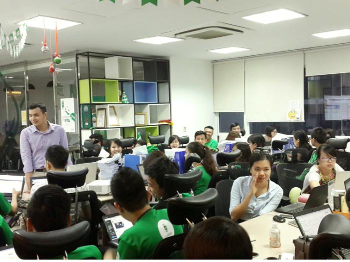 T3H Khai giảng lớp đào tạo tin học văn phòng cho công ty Grab Việt Nam