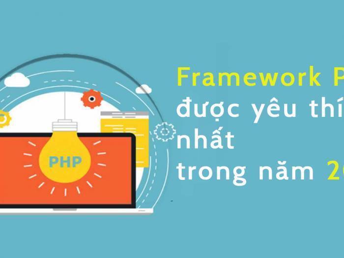 Framework PHP được yêu thích nhất trong năm 2021