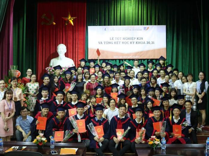 Lễ tốt nghiệp sinh viên khóa  K29 và tổng kết học kỳ khóa k30, 31