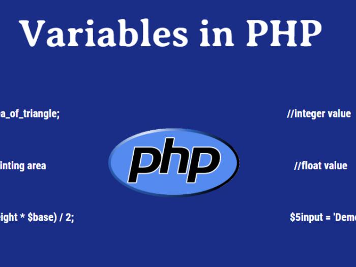 Biến trong PHP - tìm hiểu về các biến trong PHP