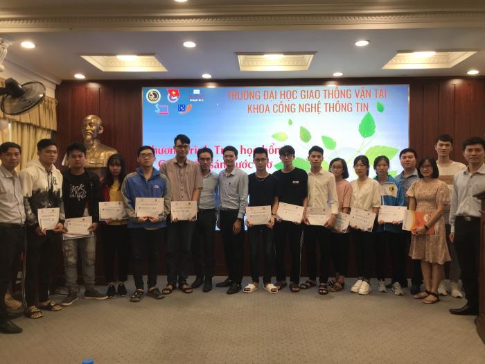 T3H đồng hành cùng Chương trình Trao học bổng Quỹ thắp sáng ước mơ Khoa CNTT trường Đại học Giao thông vận tải