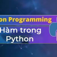 Tìm hiểu về các hàm trong Python