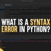 Lỗi trong Python - Cách xác định lỗi trong Python